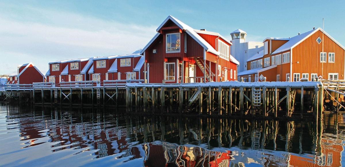 In camper adAustvågøya