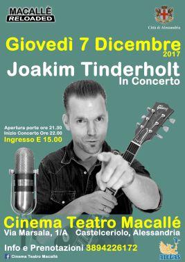 macallè Joakin Tinderholt 7 Dicembre 2017 CinemaMacallè