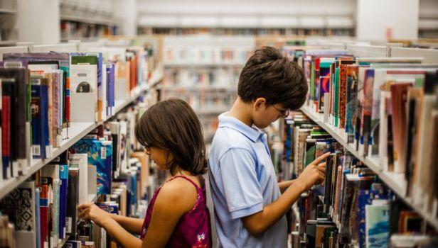 Mine biblioteca_bambini
