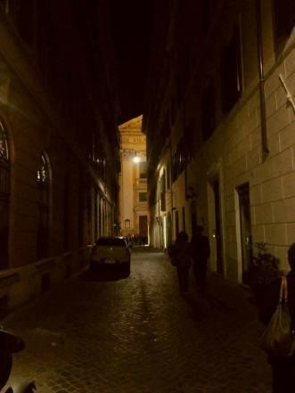 Nel buio della sera
