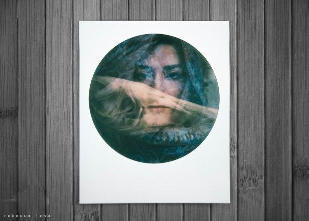 autoportrait polaroid double exposition rebecca lena