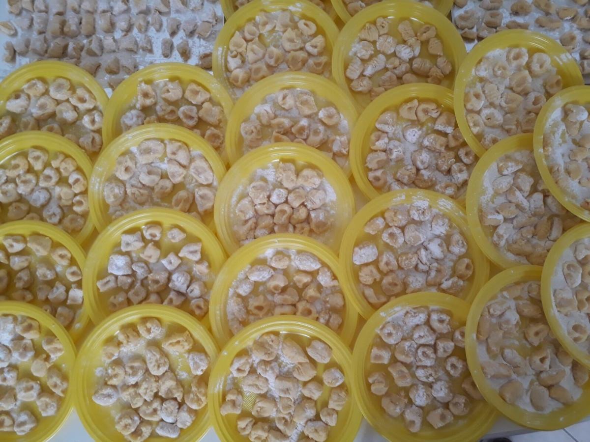 Gnocchi di patate fatti in casa…… che la festa abbia inizio…..