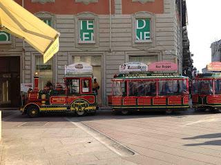 Trenino via Milano Alessandria
