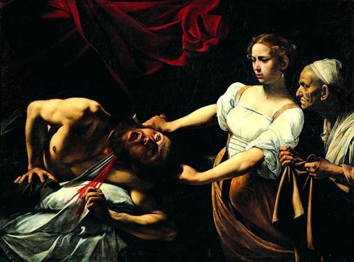 Caravaggio_-_Giuditta_che_taglia_la_testa_a_Oloferne_(1598-1599)rit