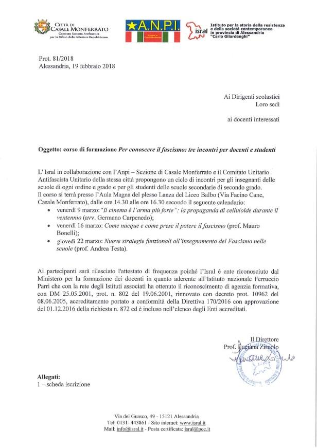 Ciclo Incontri - Prot. 81-2018_circolare_corso_Per_conoscere_Il_Fascismo