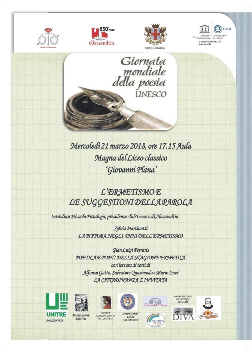 Giornata modiale poesie Unesco poesiabis