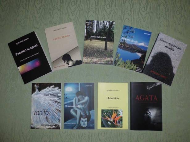 I libri di Gregorio Asero