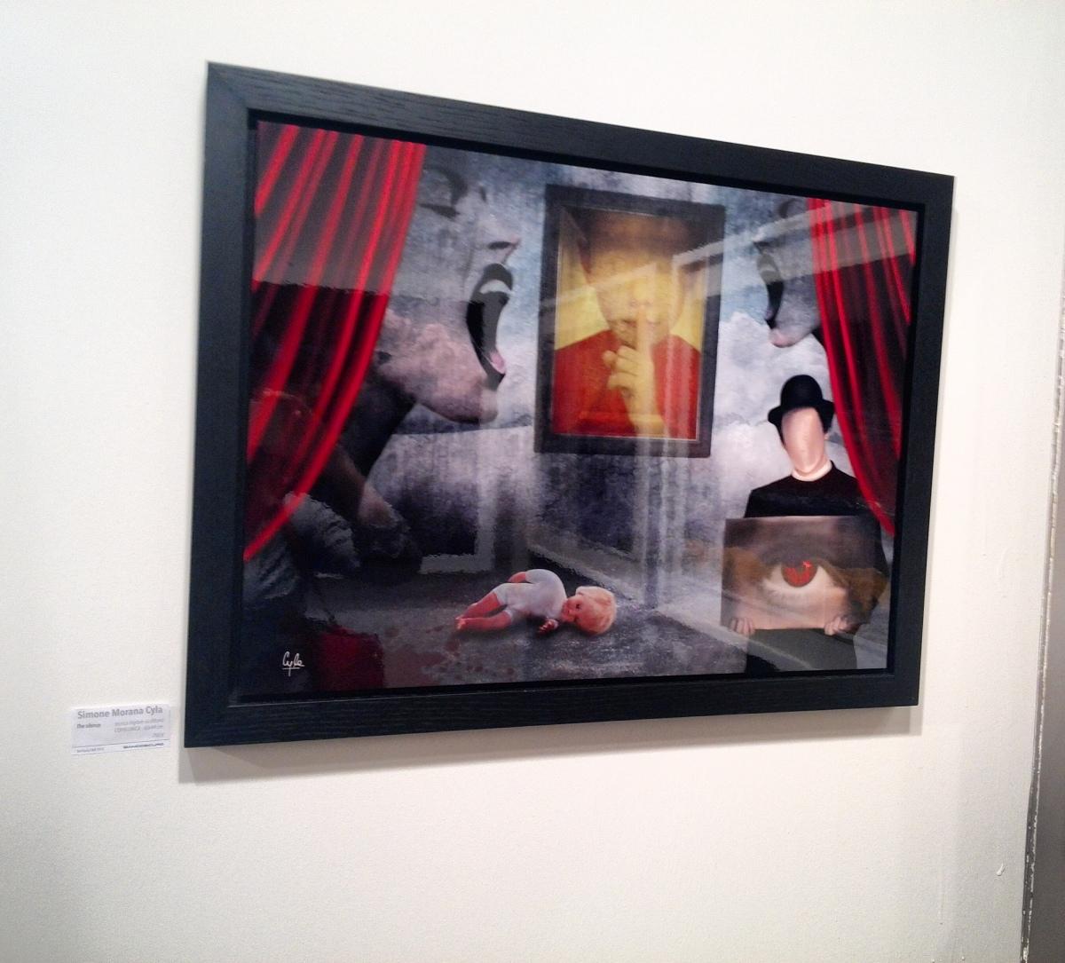 """Nuovamente disponibile una delle mie opere uniche più importanti """"The Silence"""" del2012!"""