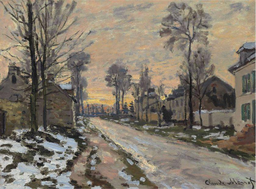 Neve a Camogli