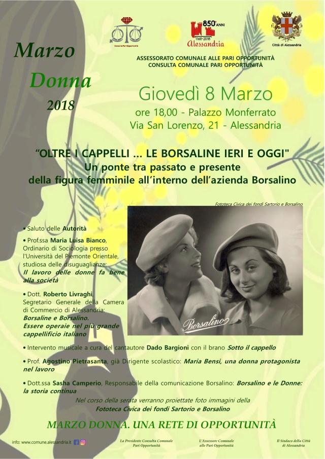 OLtre Borsalino evento 08-03-2018