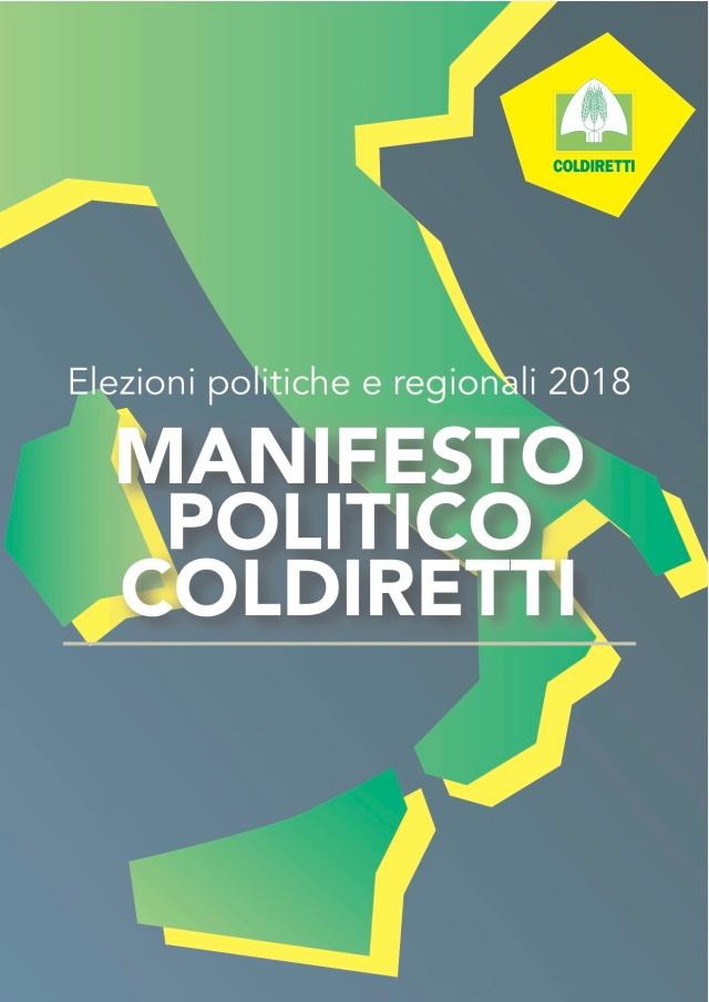 POLITICO-COLDIRETTI (trascinato)