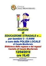 LOCANDINA EDUCAZIONE STRADALE 12-4-18