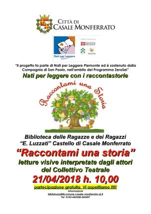 locandina letture Collettivo 21-4-2018
