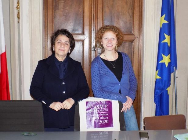 Para Il sindaco Palazzetti e l'assessore Carmi durante la presentazione del convegno