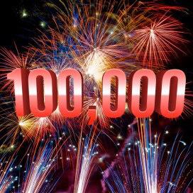 100.000 visite