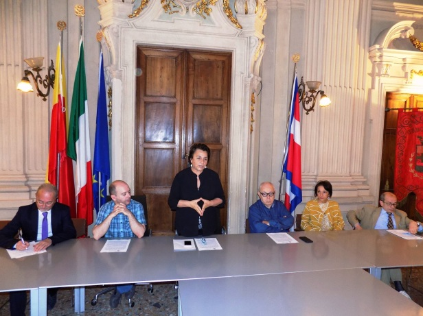 amc Da sx Micheletti, Rossi, Palazzetti, Teruggi, Cressano e Ottone
