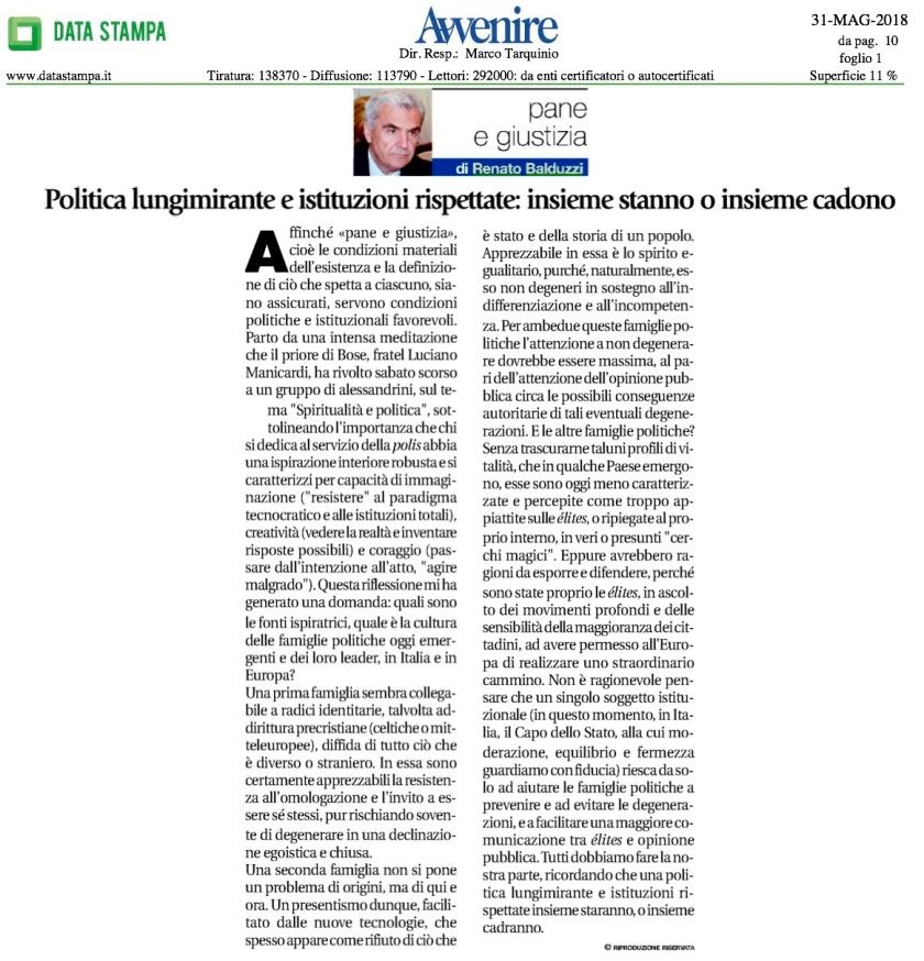 Balduzzi Pane-e-giustizia-31-maggio-2018