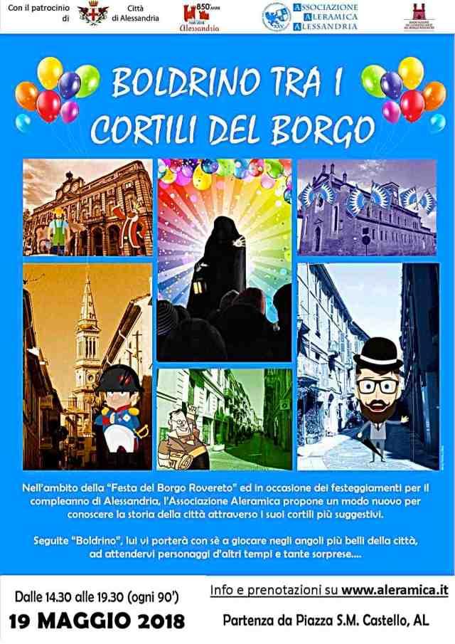 boldrino fes Locandina Evento Boldrino tra i cortili del Borgo