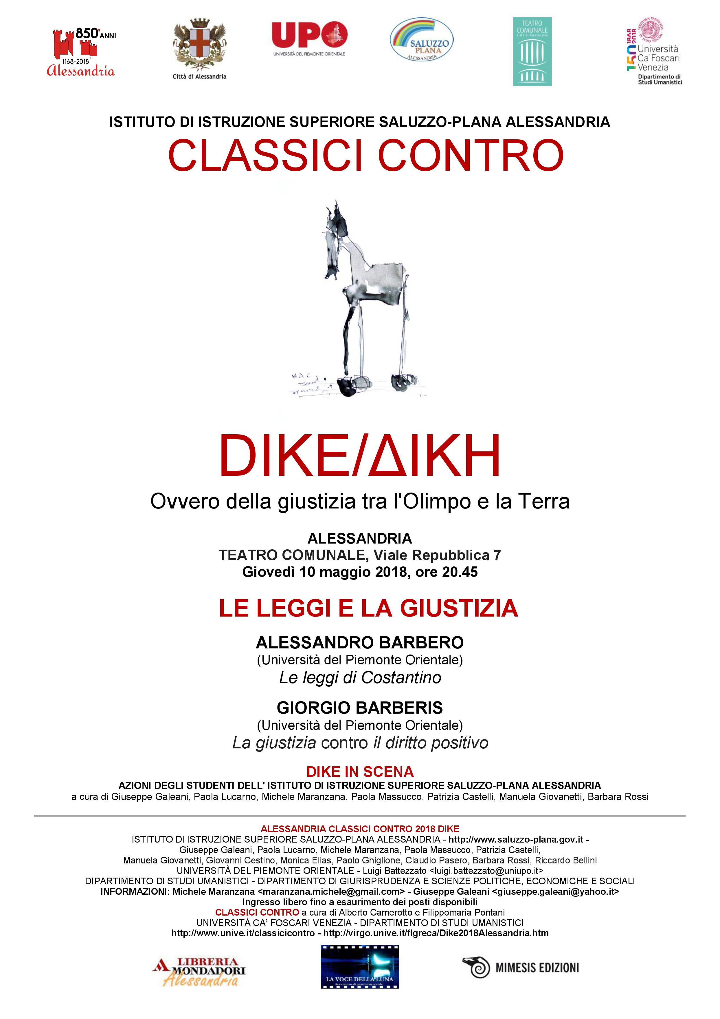 Classici Contro Dike Alessandria 2018
