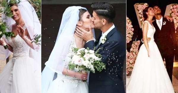 Lorenzo Pellegrini e Veronica Martinelli, bellissimi e innamoratissimi, hanno dettosì