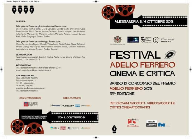 premio Bando Ferrero fronte