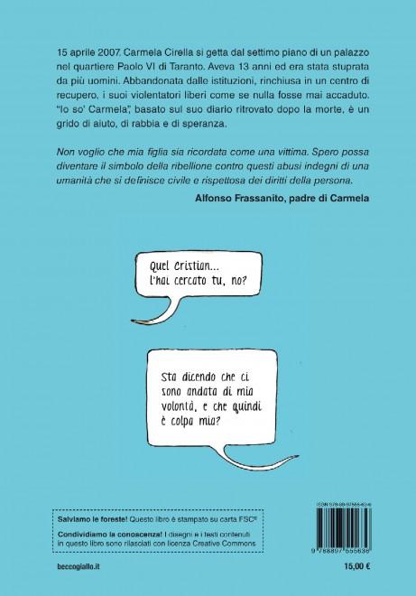 VM 18  – Ieri Carmela aveva 13 anni: oggi é una storia vera in una graphicnovel.