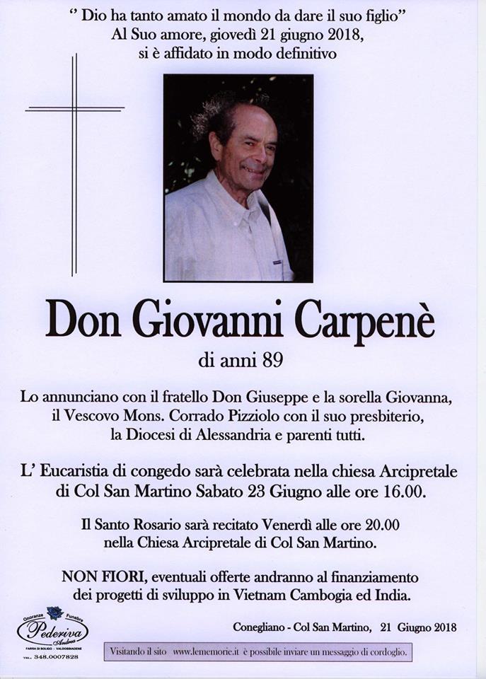 Don Giovanni Carpenè