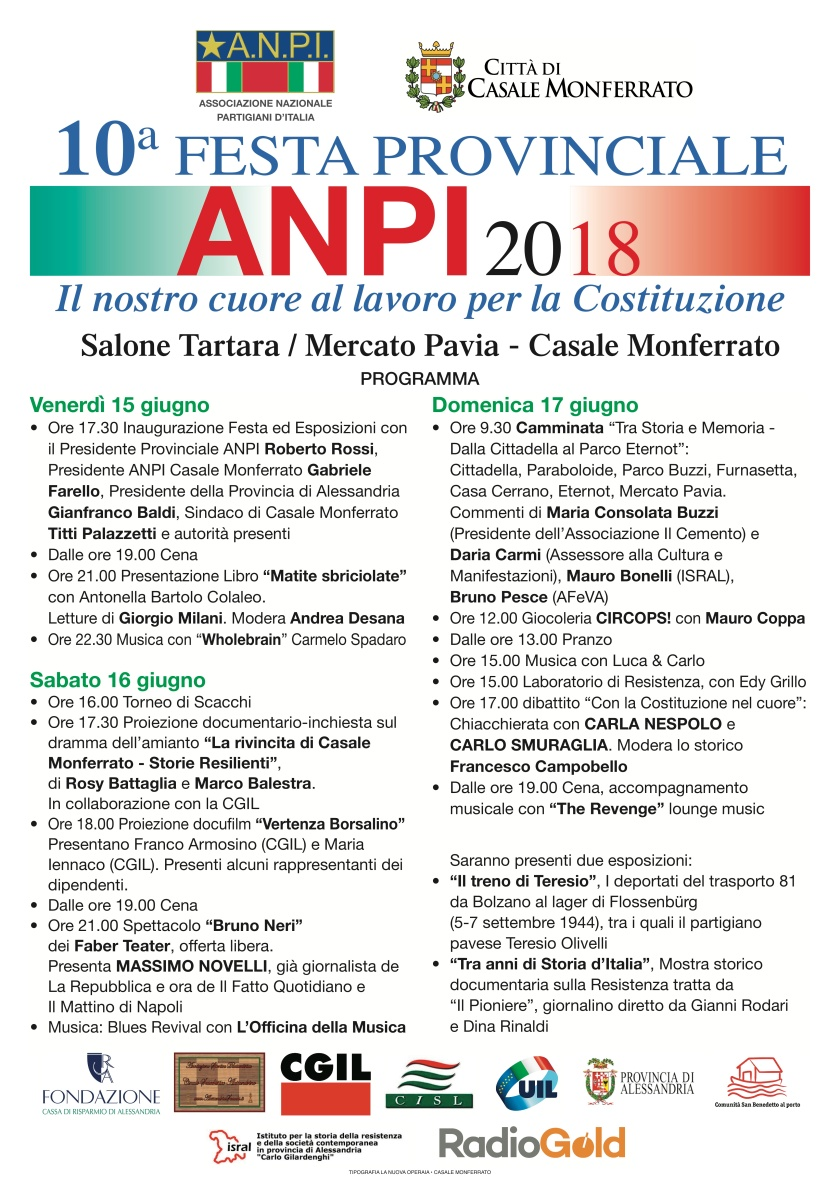 Festa Prov. ANPI 2018
