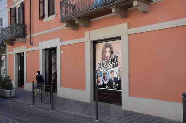Il barbiere Ciao Ciao parrucchieri via Cavour Alessandria