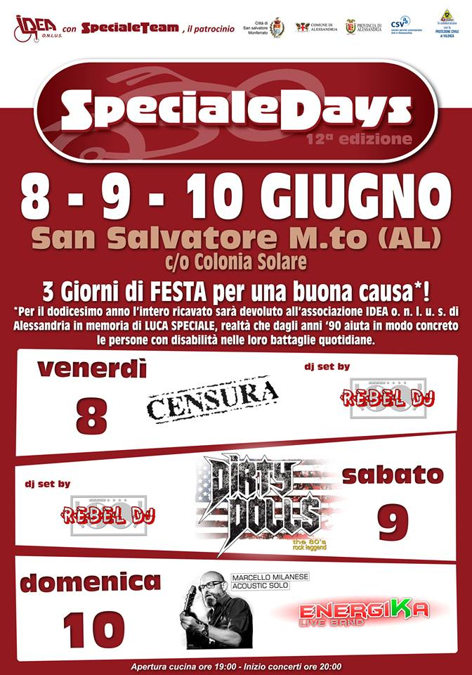 speciale days 2018