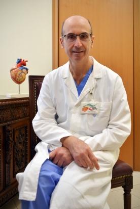 Il Prof. M. Fabbrocini, Direttore Dipartimento Cardiovascolare Clinica CittÖ di Alessandria