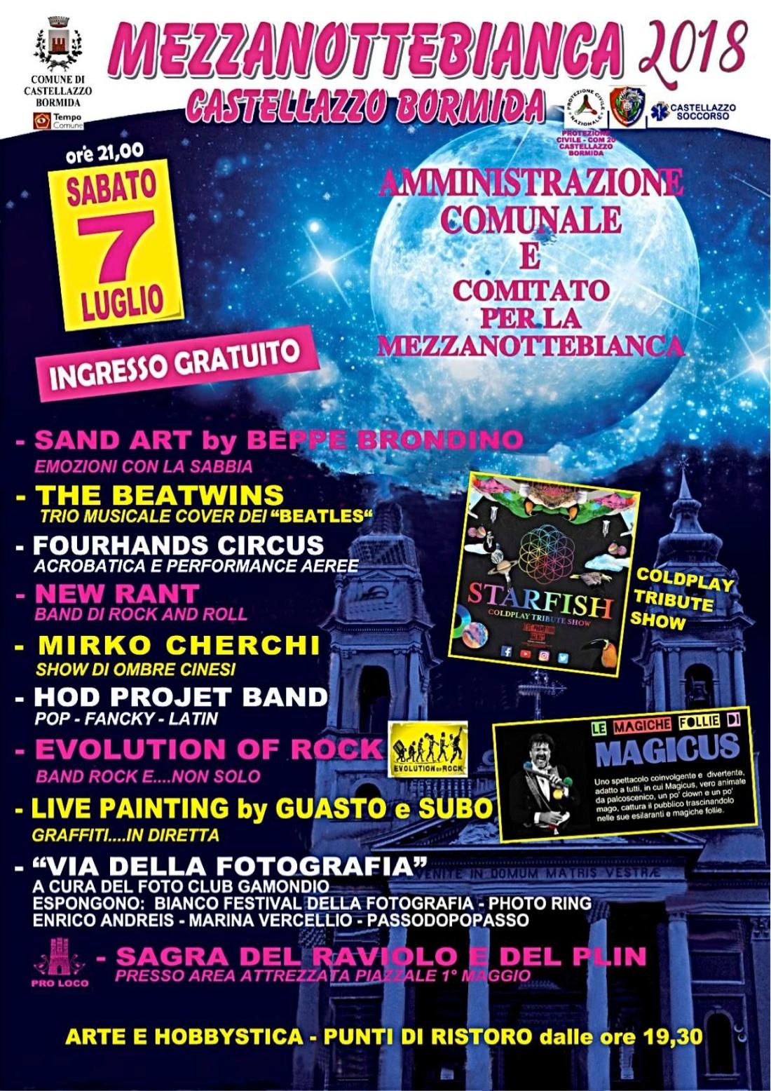 mot 3_73° Motoraduno_Locandina Castellazzo_Mezzanotte bianca