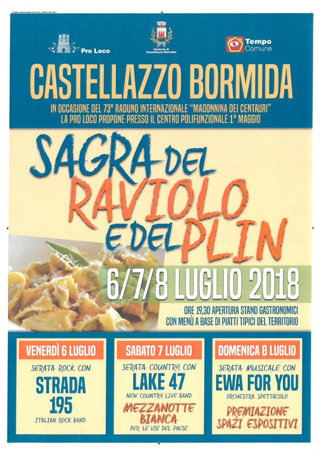 mot 4_73° Motoraduno_ Locandina Castellazzo_Sagra