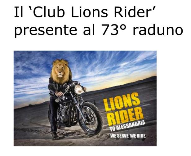 mot 5_73° Motoraduno_Scheda Informativa Lions Riders