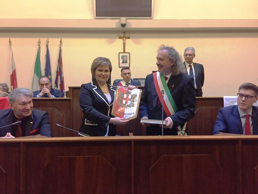 ... e il Presidente del Consiglio Comunale di Alessandria in visita  ufficiale alla città russa di Ryazan. Delegazione Ryazan ad  Alessandria febbraio 2018 ab71cd5e28c6