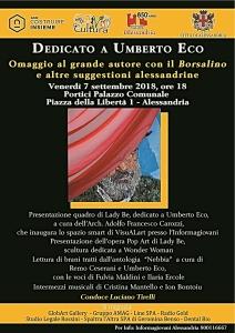 e Locandina_Omaggio a Umberto Eco_Alessandria_07-09-2018