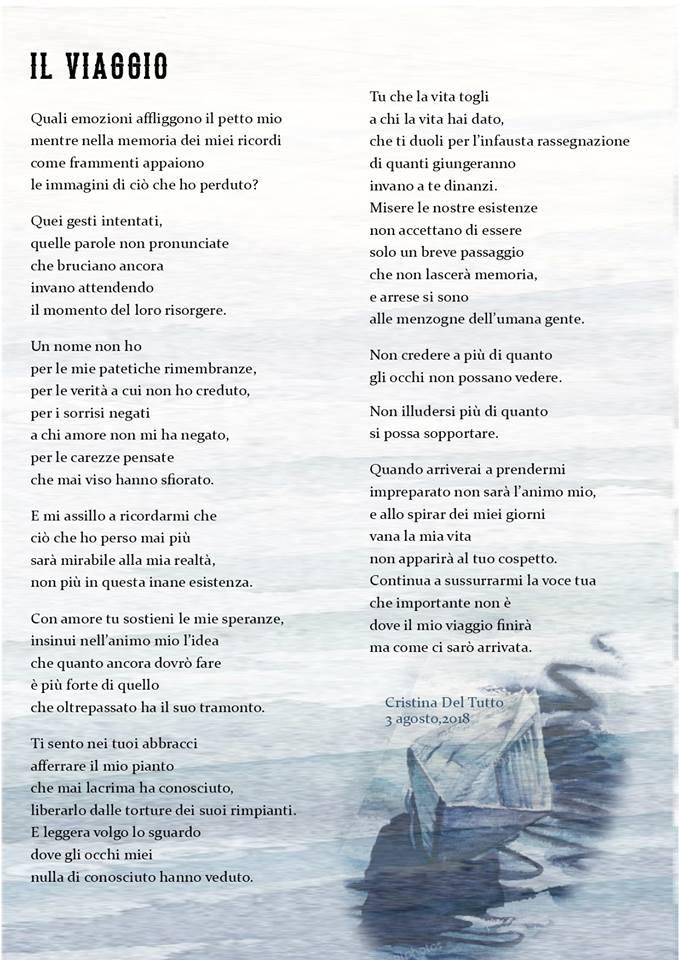 Il viaggio, di Cristina Del Tutto