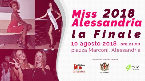 Miss Alessandria 2018
