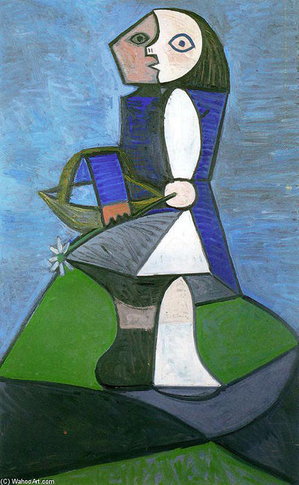 Pablo-Picasso-Child-with-flower