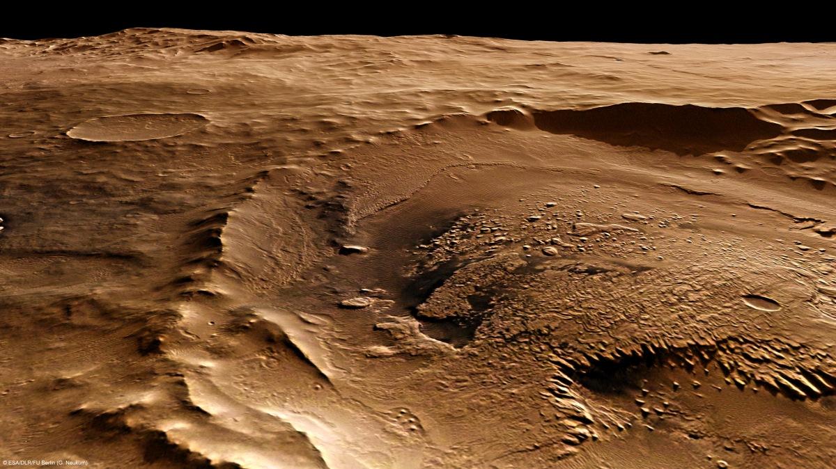 Création d'une atmosphère pour Mars : impossible avec nostechnologies