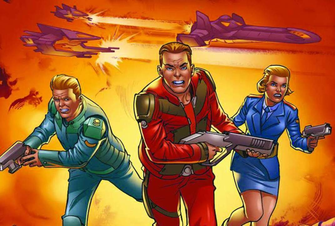 Celebrating The History Of Manchester's First Superhero Dan Dare