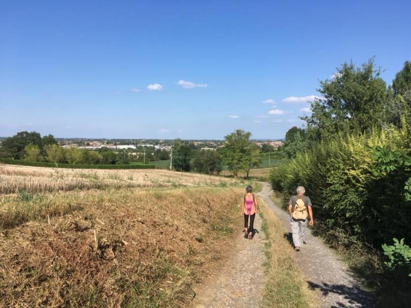 anc Camminatori verso Viguzzolo