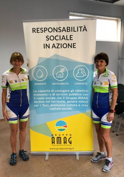 bike2work Stefani e Laveggio