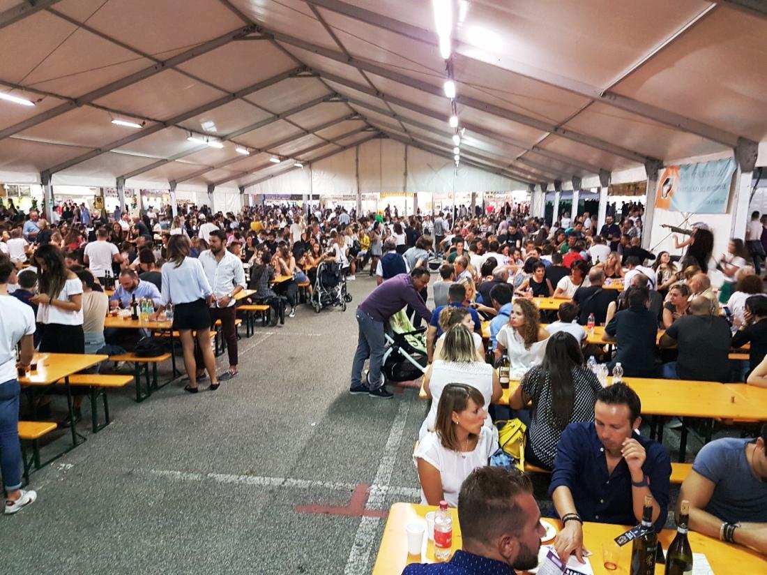 Festa del vino 2018 - tavolate