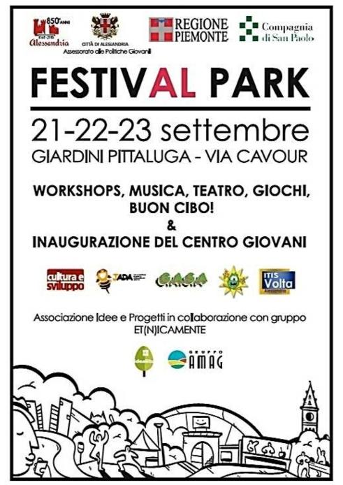 FestivAl Locandina FestivAL Park_21-22-23 sett 2018_Alessandria