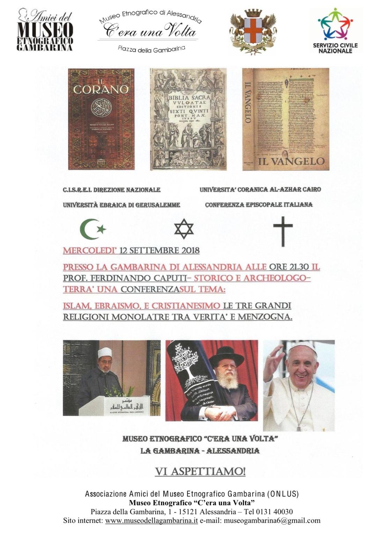 gambarina locandina caputi religioni