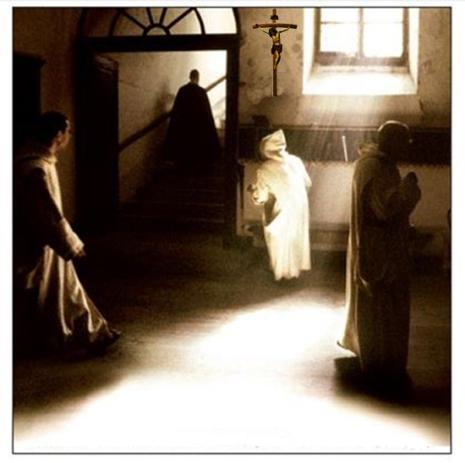 Il grande silenzio con crocifisso
