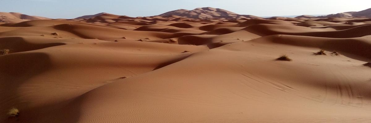 Merzuga, hechizados por sus dunas[CUPA]