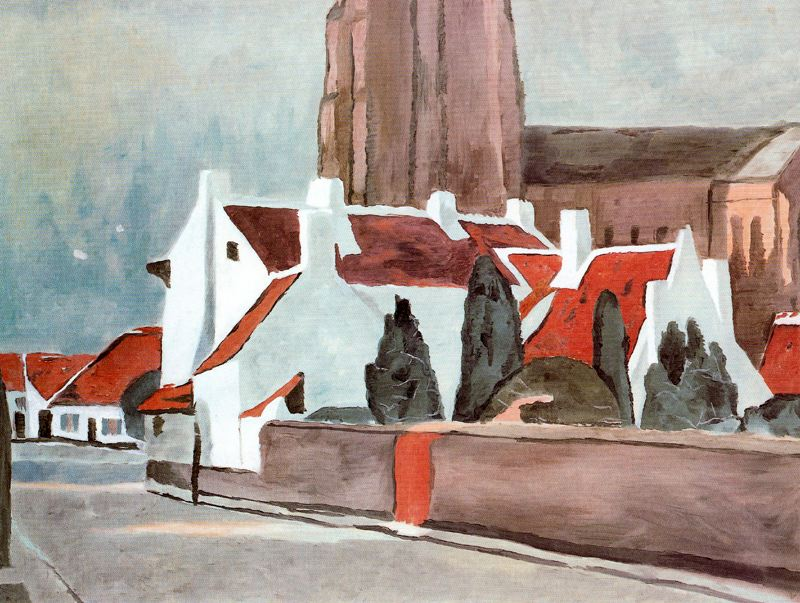 Luc Tuymans flemish-village-1995