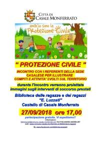 set LOCANDINA INCONTRO PROTEZIONE CIVILE 27-9-18